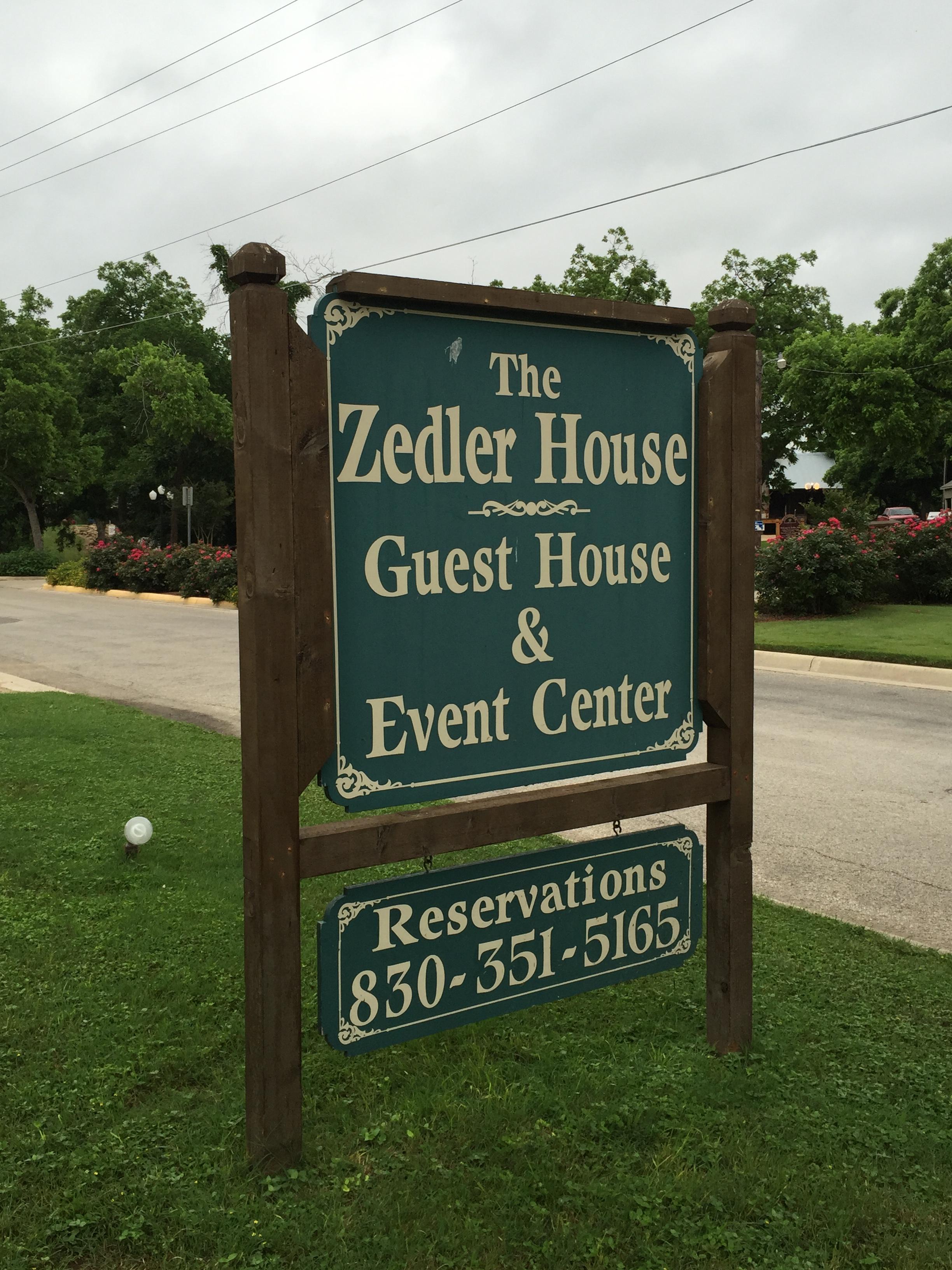 The Zedler House Guest Event Center